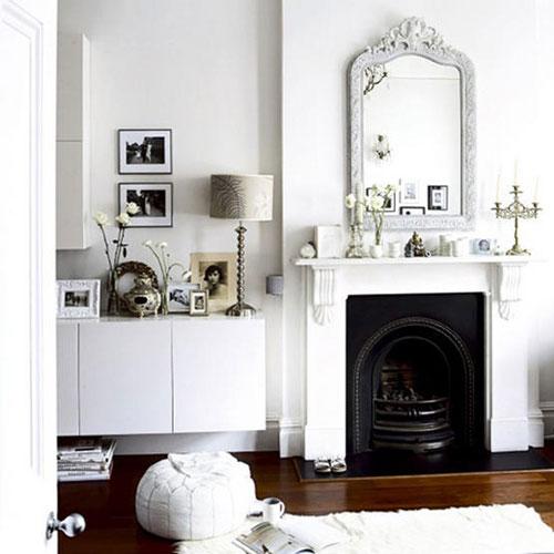 decorar en blanco el hogar