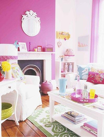 decorar con color casas contemporáneas