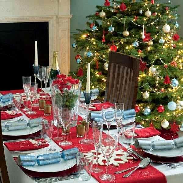 decorar el comedor en navidad