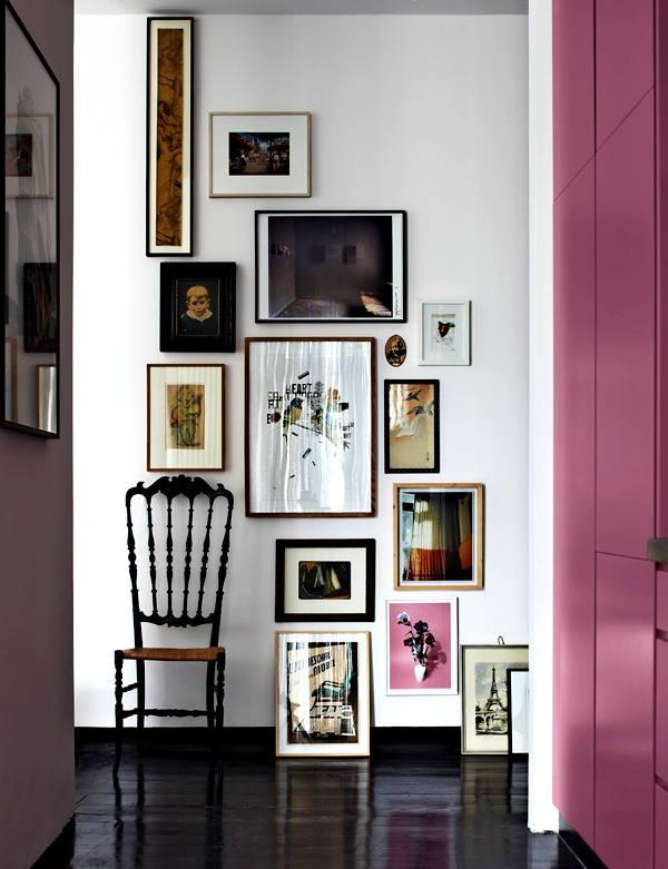 decorar con cuadros y láminas