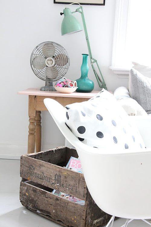 decorar con detalles y muebles vintage