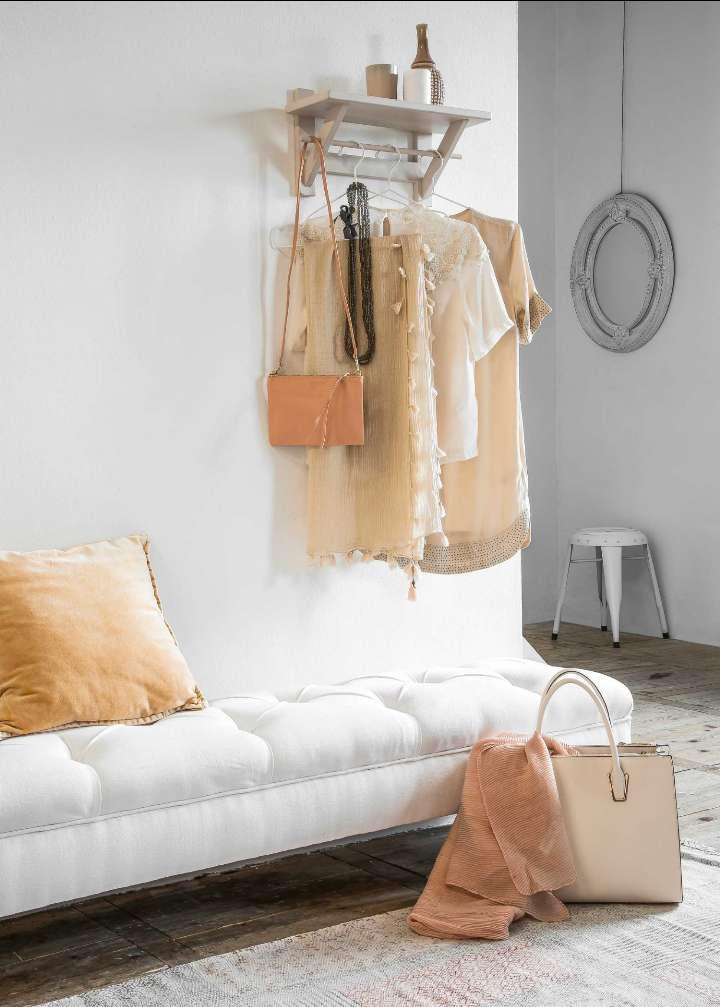 decorar con estantes y baldas