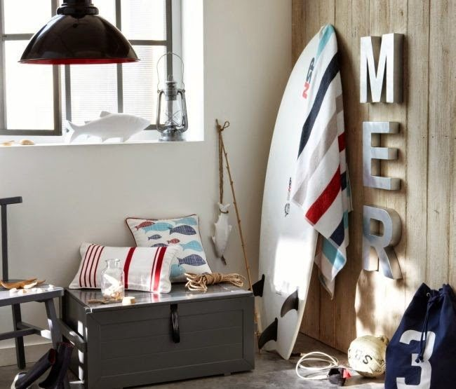 C mo decorar con estilo marinero o navy decoracion in - Muebles estilo marinero ...