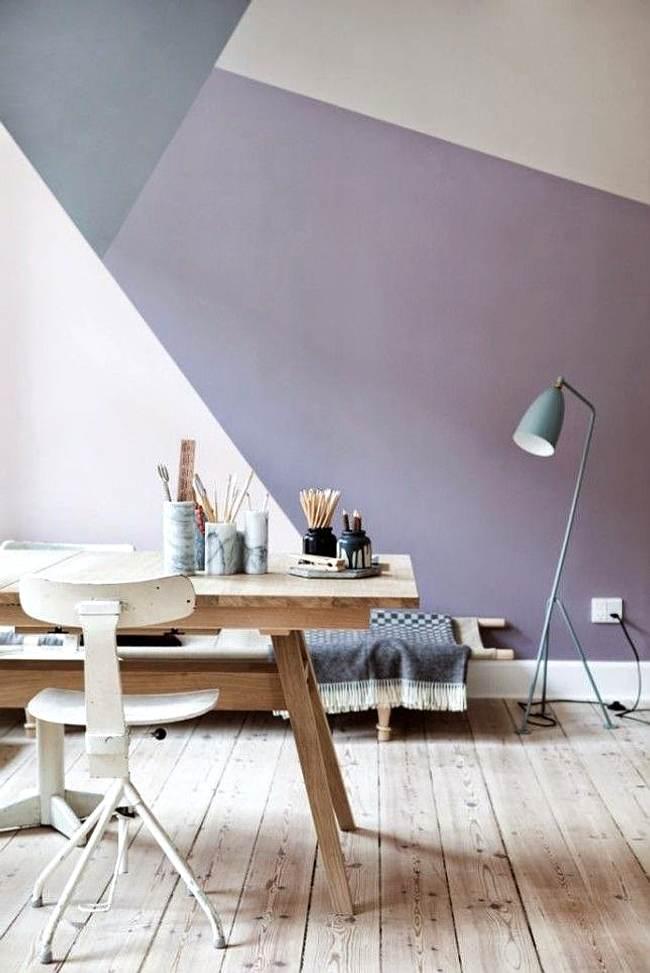 decorar con geometría las paredes