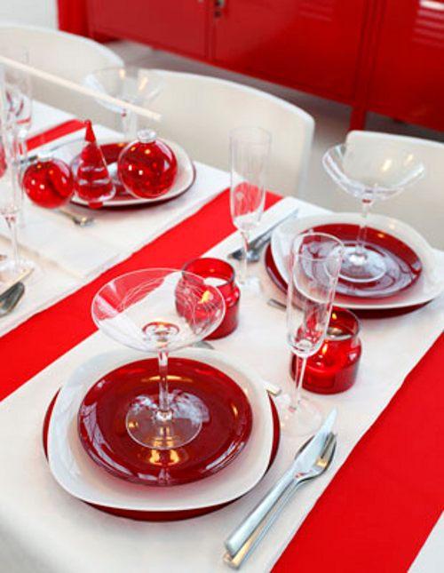 Decorar la mesa de navidad con ikea decoracion in - Decoracion de navidad para la mesa ...