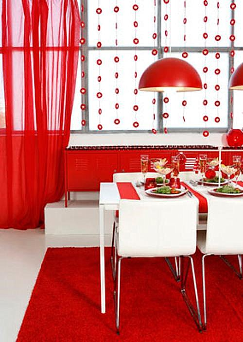 Decorar la mesa de navidad con ikea decoracion in for Decoracion navidena ikea