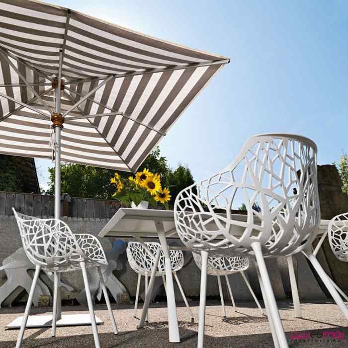 decorar con muebles de exterior