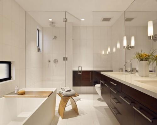 decorar y organizar un baño moderno