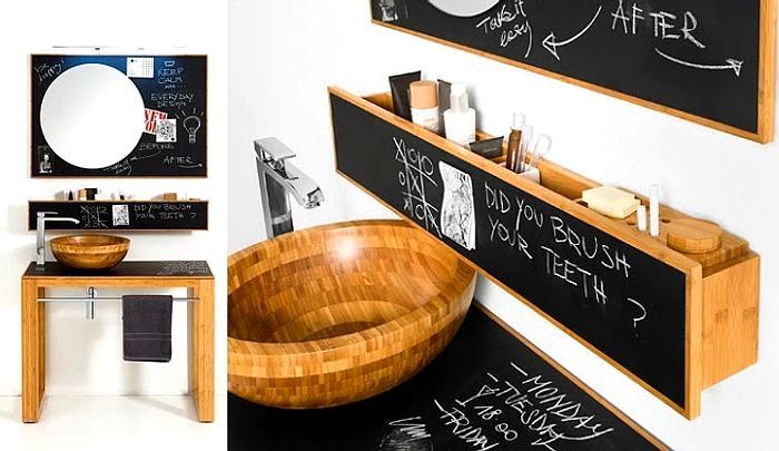 Pintura de pizarra o chalkpaint para renovar muebles - Pintura pared pizarra ...