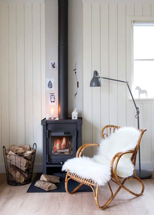 decorar con textiles en invierno
