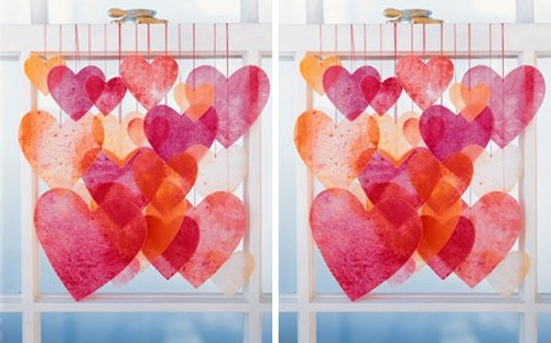 delicados-corazones-papel-san-valentin