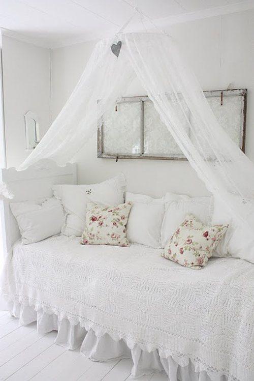 Delicados doseles para la decoraci n de salones - Doseles de cama ...
