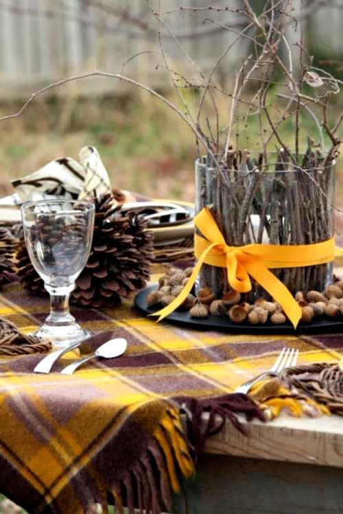detalles y ambientes para decorar en otoño