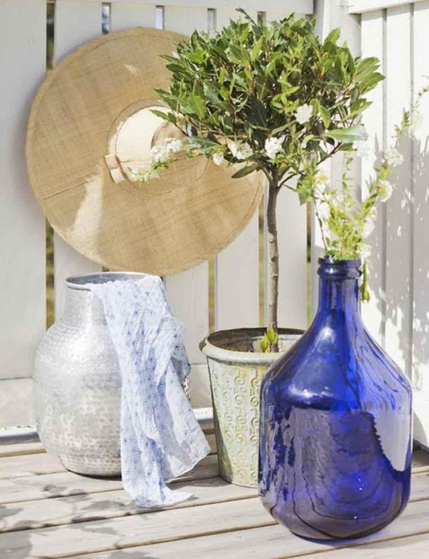 detalles con textura y color para jardines y terrazas