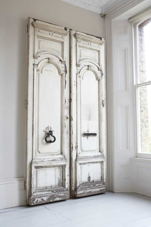 Detalles elegantes y vintage decoracion in for White french doors for sale