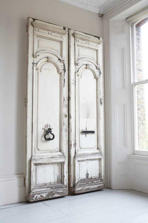 Detalles elegantes y vintage decoracion in for Vintage internal doors