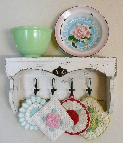 Detalles con encanto crochet y color en tu cocina - Detalles vintage decoracion ...