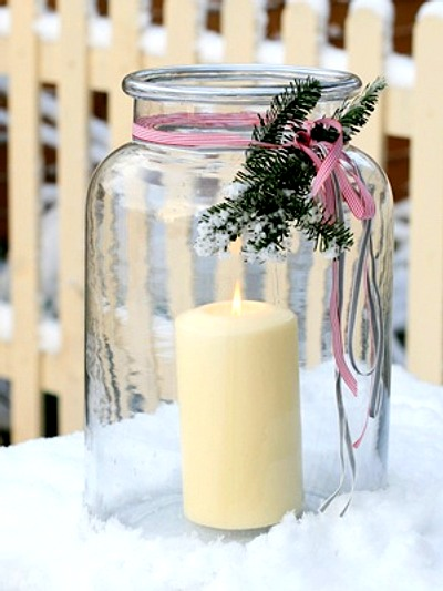 detalles simples para la decoración navideña