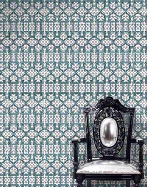 Dise o y color en las paredes con papel pintado - Papel pintado diseno ...
