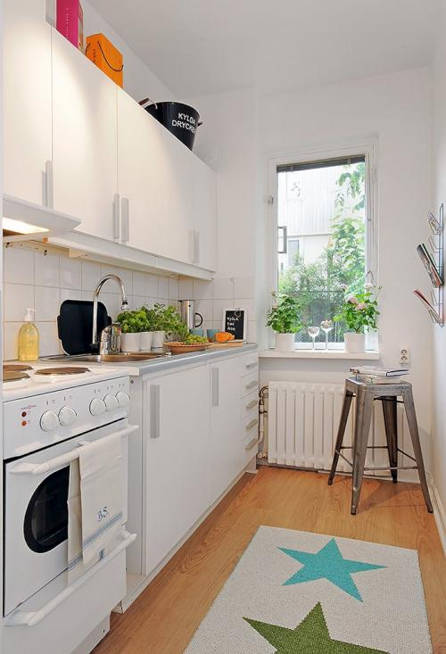 Dise o interior de un apartamento peque o y pr ctico - Disenos de apartamentos pequenos ...
