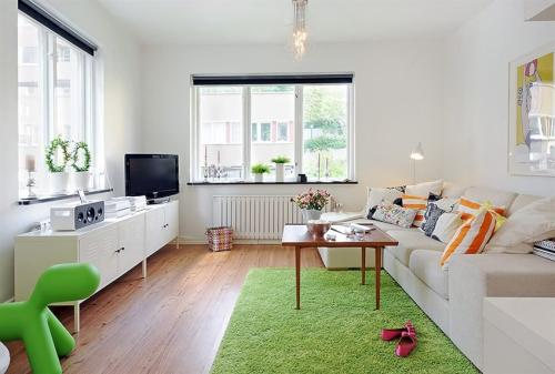 Dise o interior de un apartamento peque o y pr ctico for Apartamentos de diseno pequenos