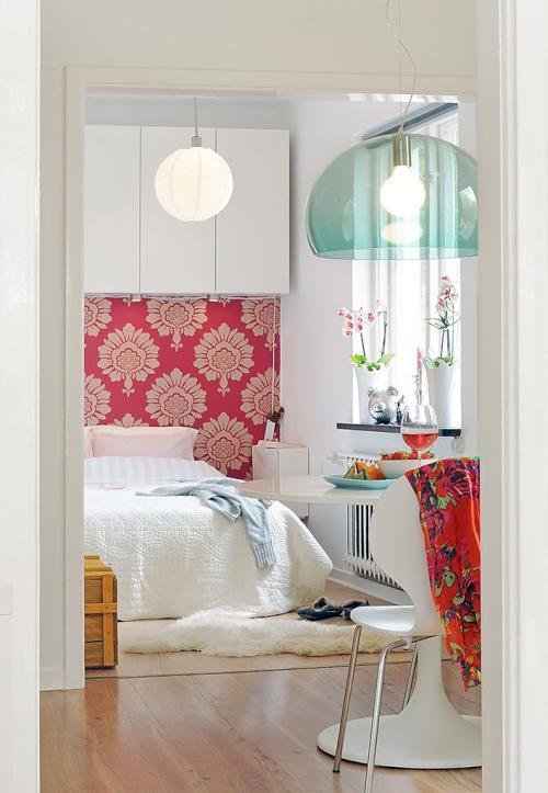 Dise o interior de un apartamento peque o y pr ctico decoracion in - Apartamentos pequenos disenos ...