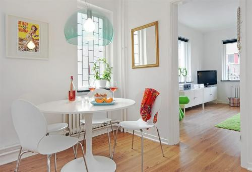 decoracao de apartamentos pequenos e modernos:Small Apartment Dining Room Ideas