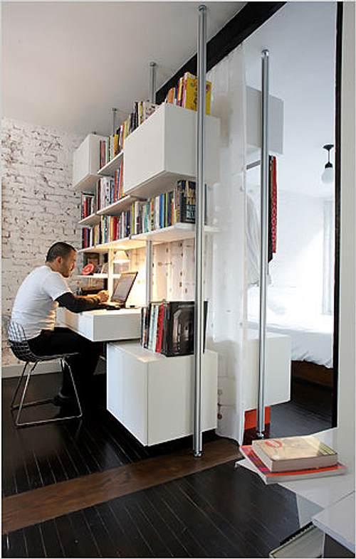 Muebles originales para separar un espacio