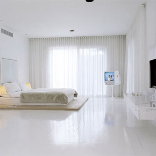 Dormitorio minimalista decoracion in for Decoracion minimalista dormitorio