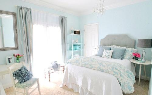 dormitorios juveniles femenino y en tonos pastel