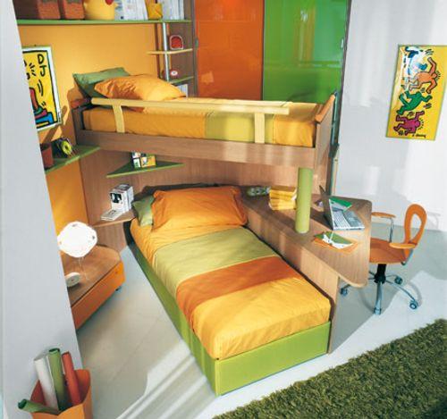 Dormitorios loft para j venes y ni os decoracion in for Dormitorios jovenes