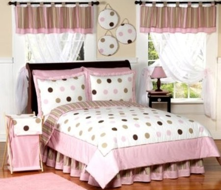 Teen Bedding Pink And Brown 8