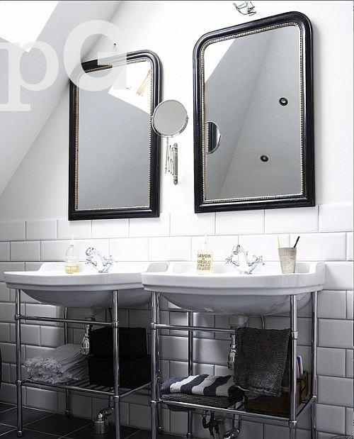 dos lavabos