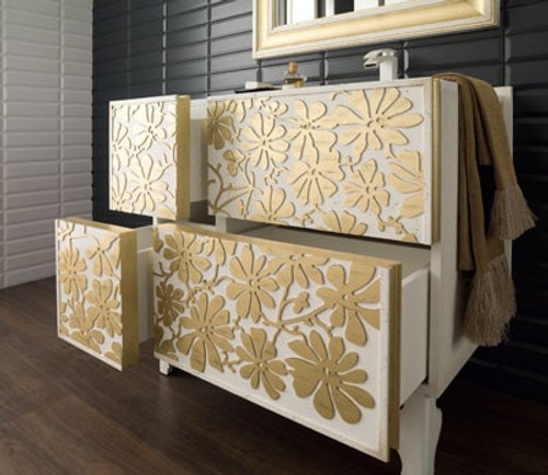 Mueble Baño Elegante:Edén, Mueble de Baño Elegante e Innovador – DecoracionIN