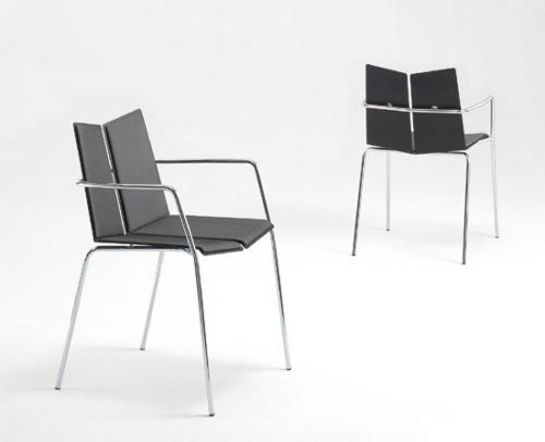 Elegantes sillas apilables decoracion in - Sillas apilables diseno ...