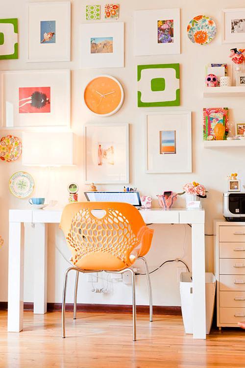 Decora un espacio de trabajo creativo decoracion in for Decoracion de espacios de trabajo