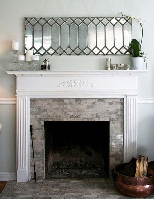 Espejo vintage hecho en casa decoracion in - Espejos vintage ...