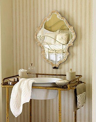 espejos vintage para el baño