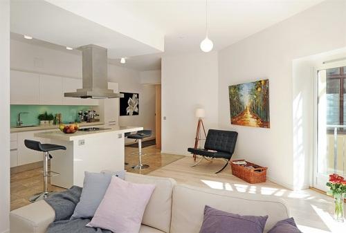 Estilo escandinavo en un moderno apartamento decoracion in - Estilo escandinavo ...