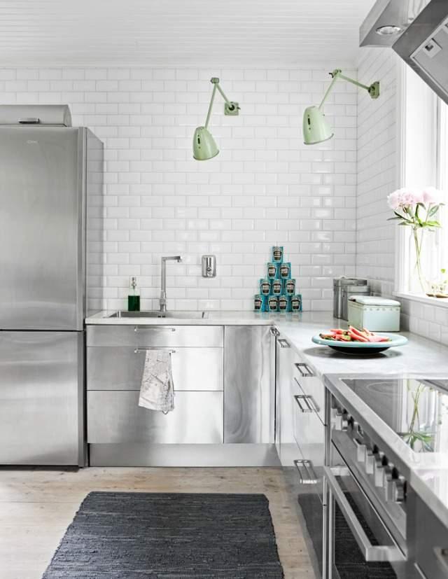 estilo industrial en la cocina