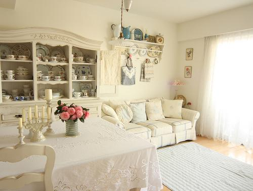 Estilo Shabby Chic En La Decoracin DecoracionIN
