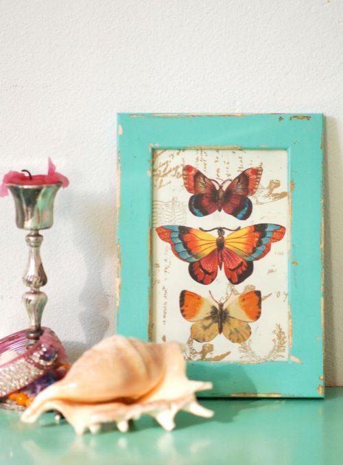 foto idea decoracin con imagenes y marcos
