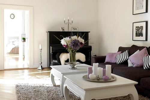 Foto idea dos mesas de centro en la sala decoracion in - Decorar mesa salon ...