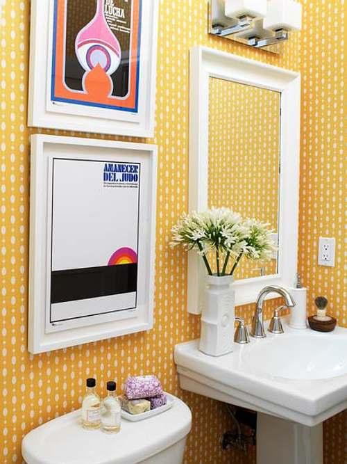 Foto Idea: Renueva el Baño con Cuadros y Color - Decoracion.IN