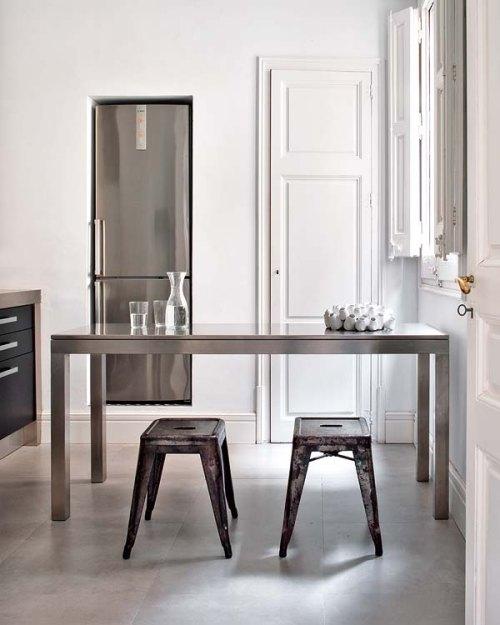 Foto idea un toque de estilo industrial en la cocina - Cocina estilo industrial ...