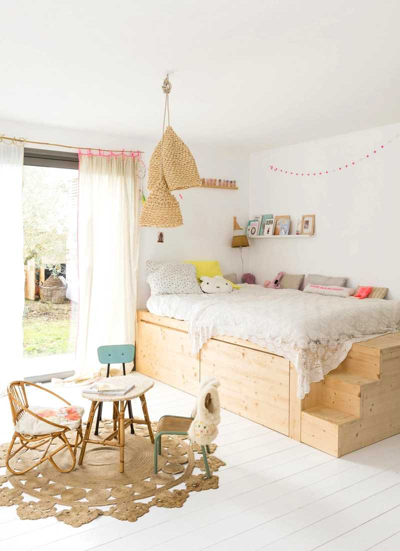 habitación infantil de estilo escandinavo
