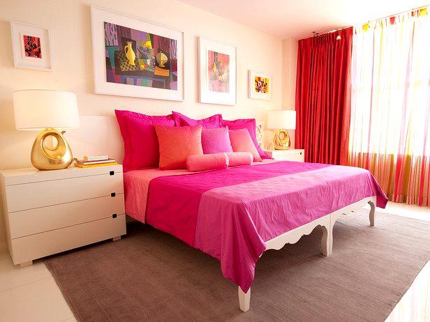 habitaciones con colores cálidos
