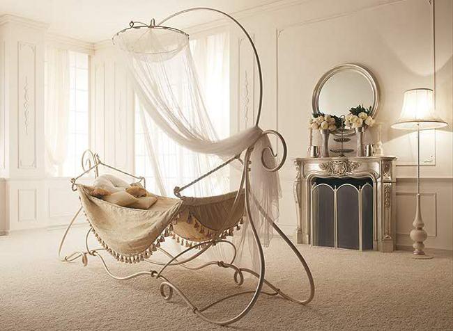 hamaca de lujo en hierro forjado decoracion in. Black Bedroom Furniture Sets. Home Design Ideas