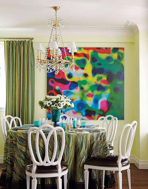 Idea para comedores en espacios peque os mesas redondas - Mesas espacios pequenos ...