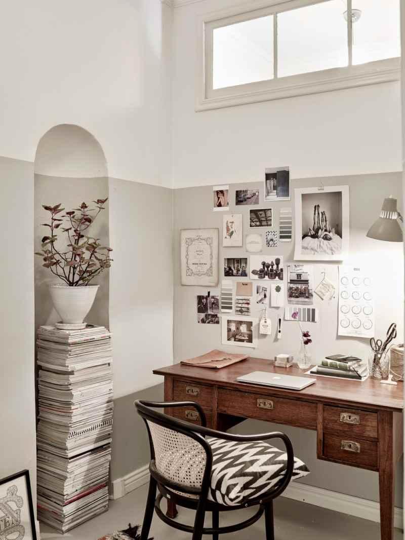 idea para decorar un espacio de trabajo con personalidad